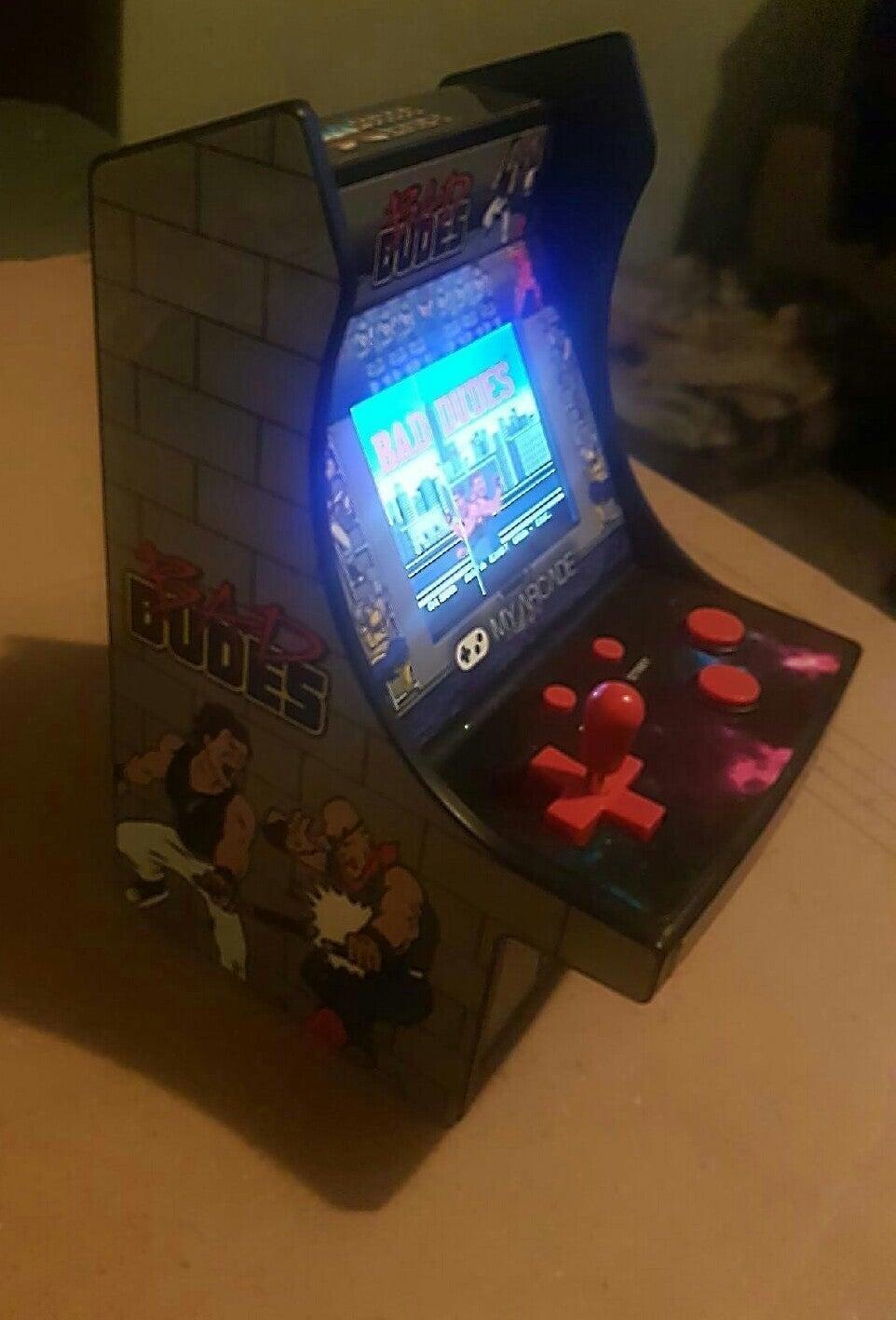bad dudes my arcade
