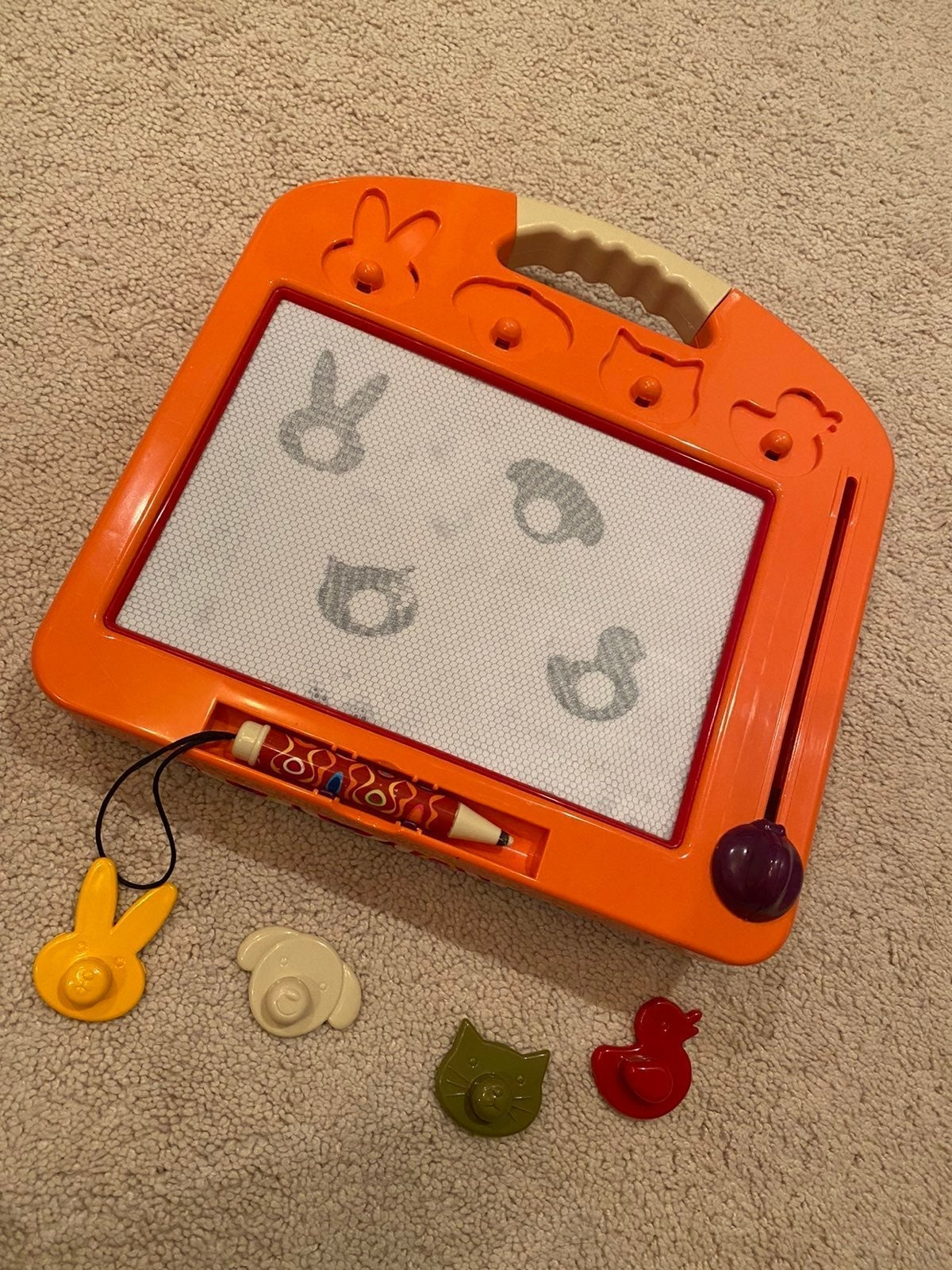 B. Toys B. Toulouse drawing board
