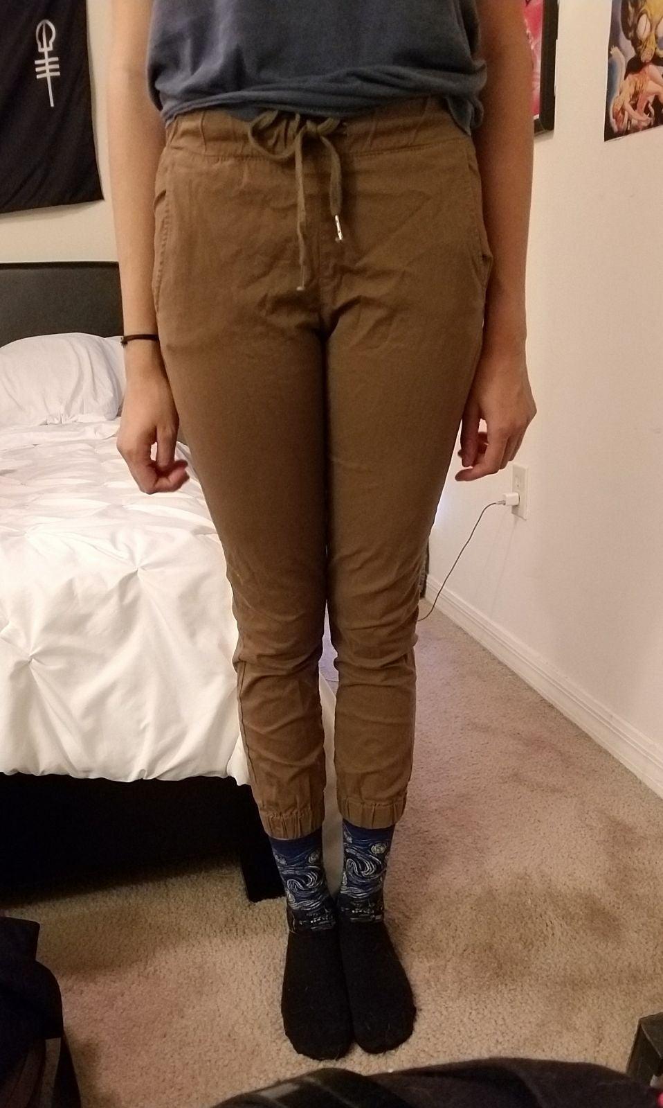 Tan Chino Pants