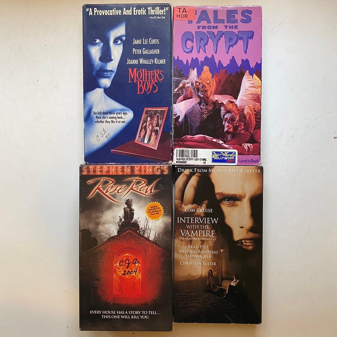 Horror Movie VHS 4 Pack