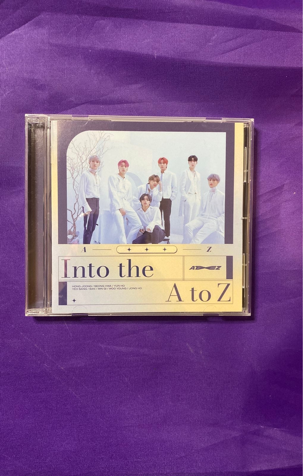 Ateez Into the A to Z Regular version