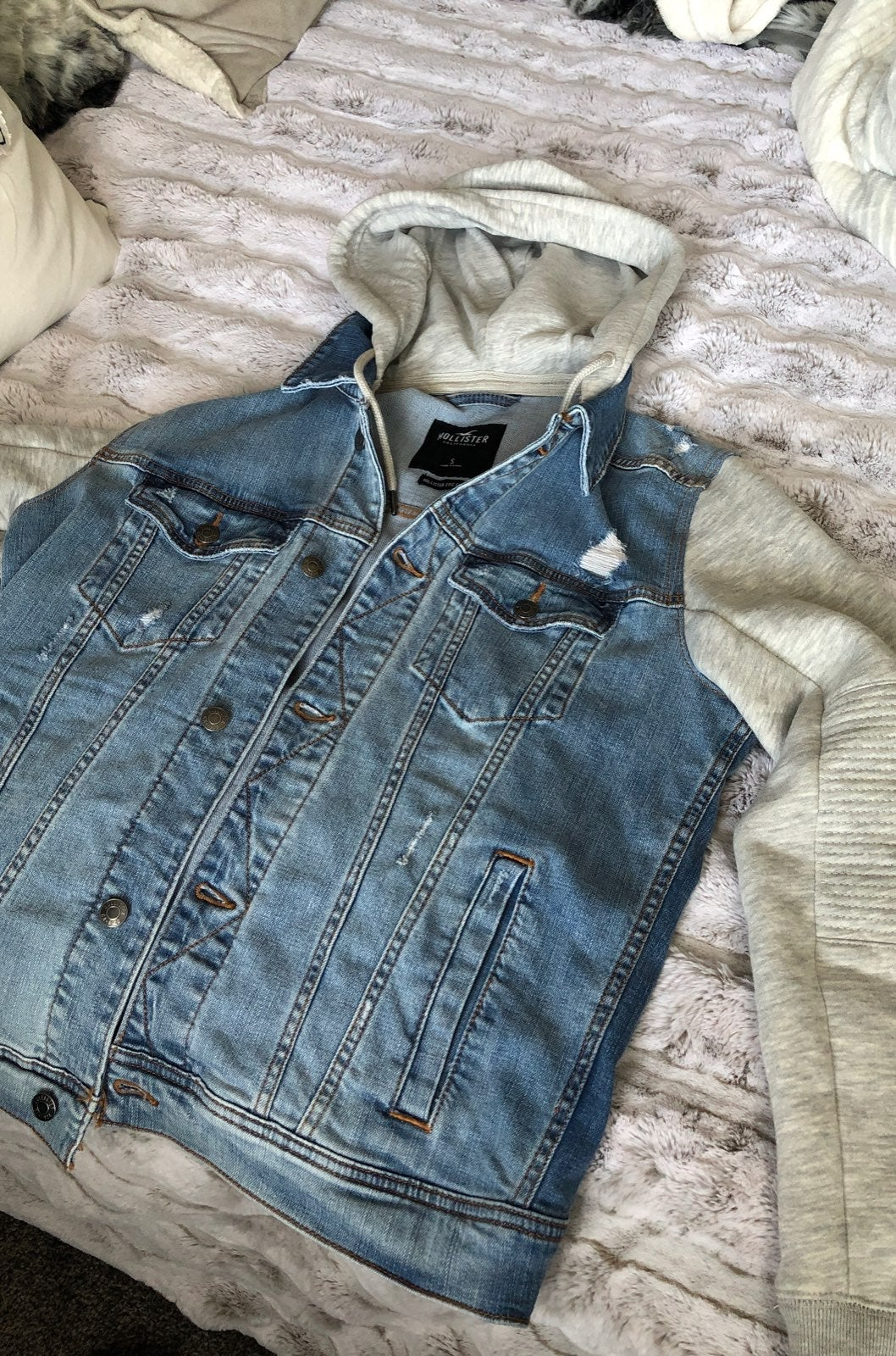 Mens Hollister Jean Jacket