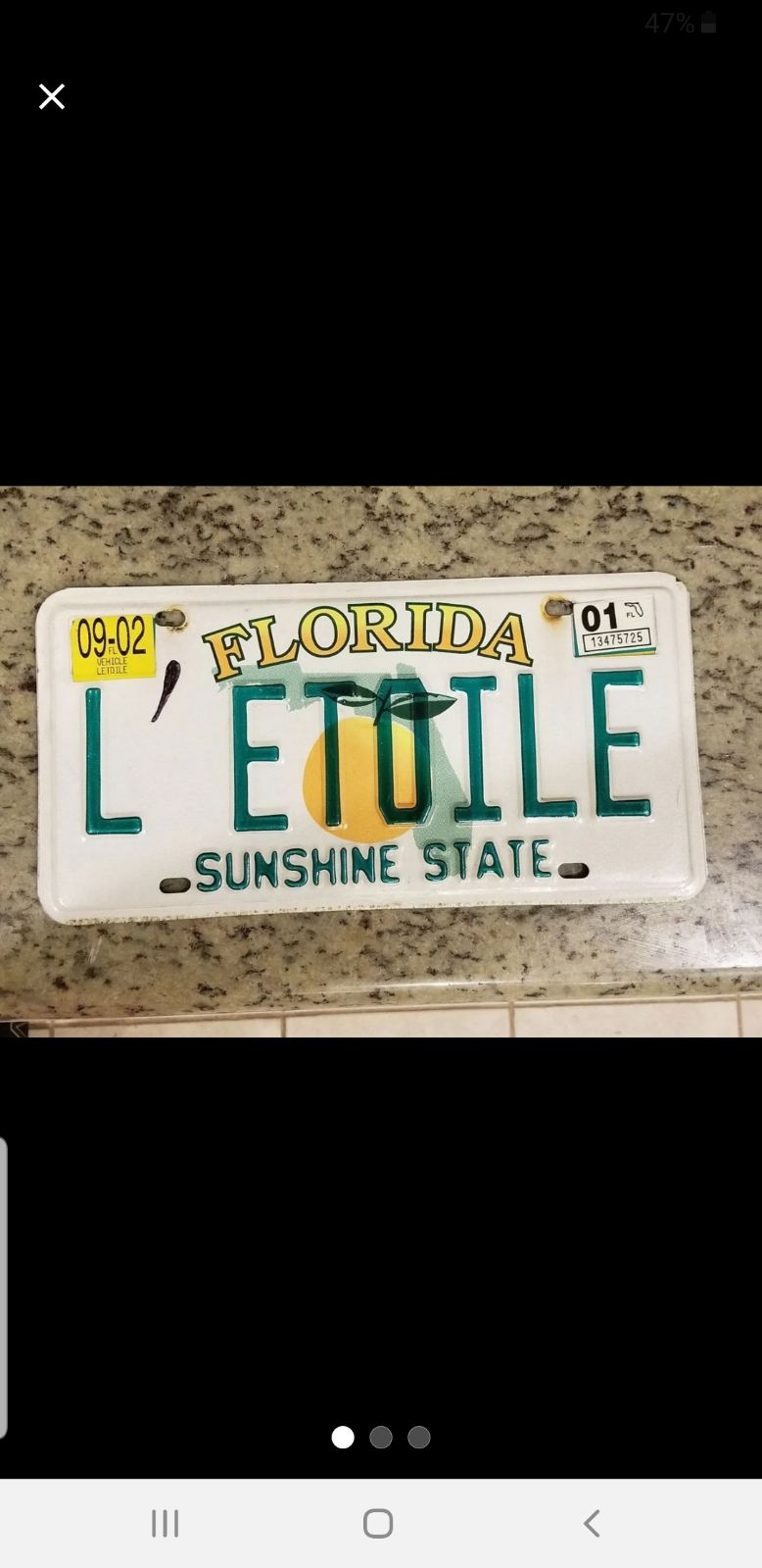 license plates Personalized and antique