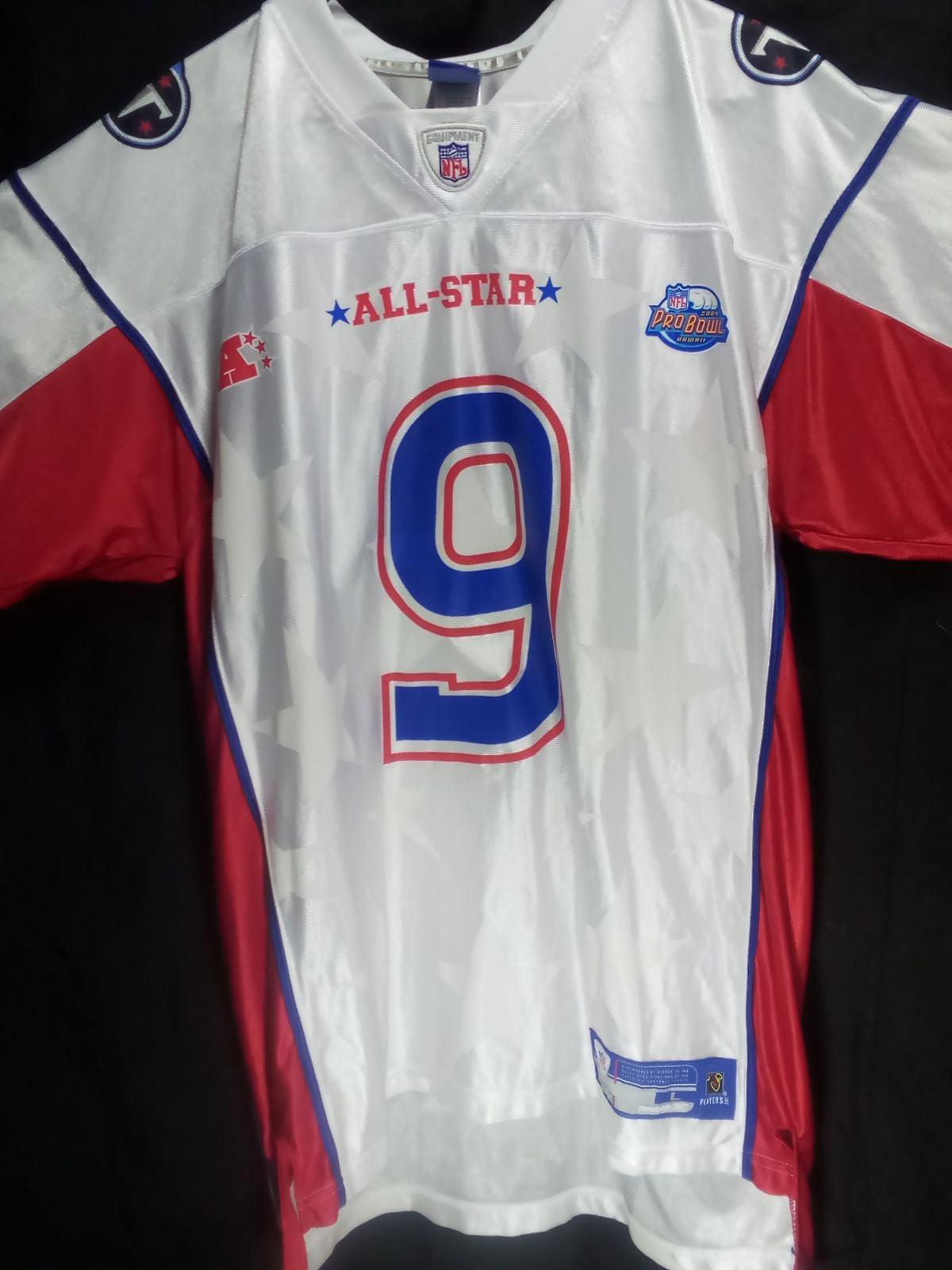 NFL Jersey Auth. Steve McNair - Pro Bowl