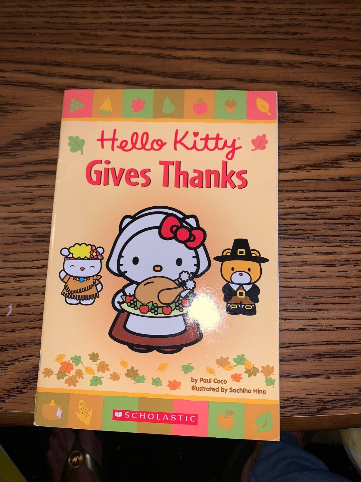Hello Kitty beginner reading book