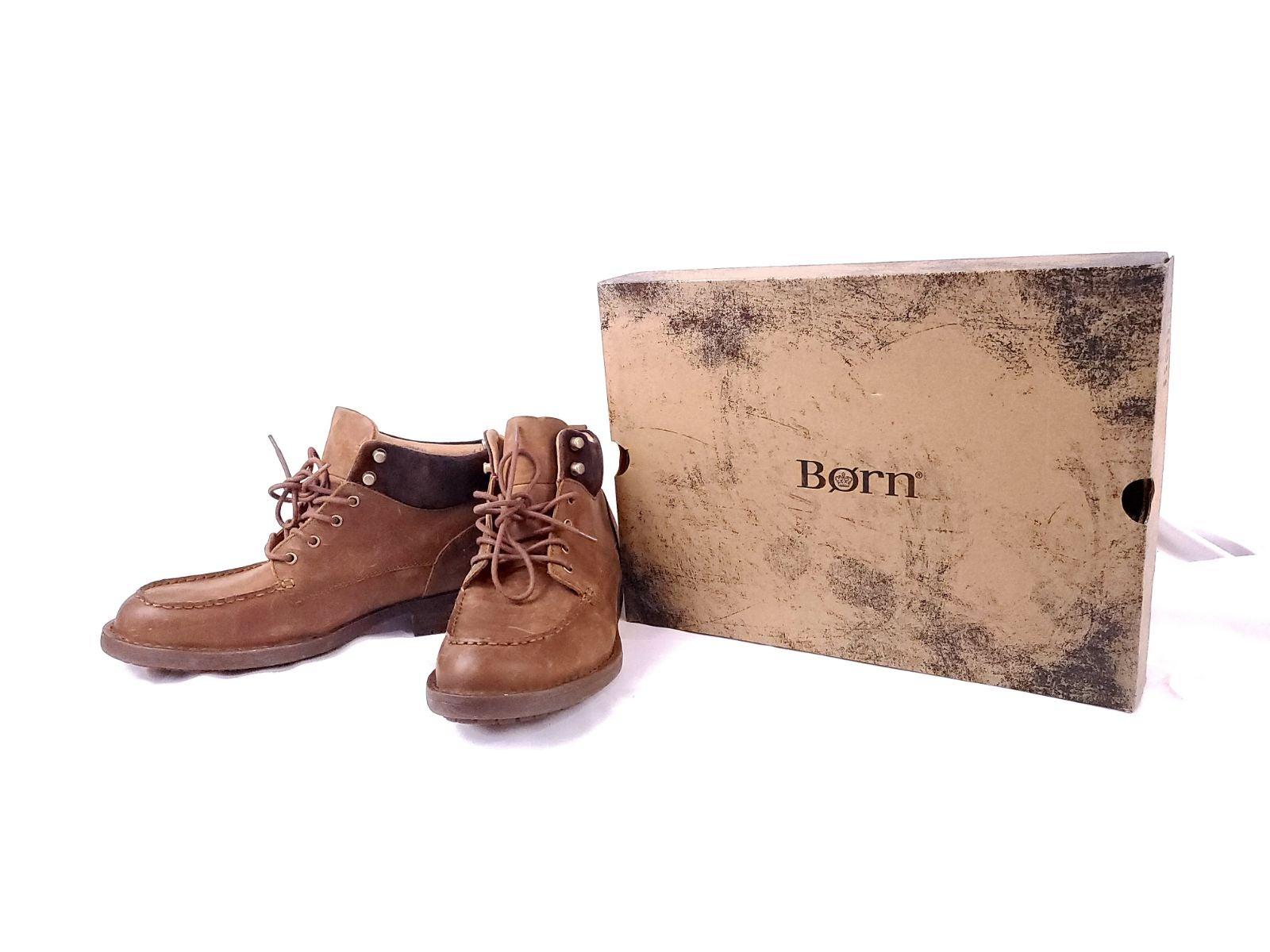 Born Hunter Light Brown Combo Boots