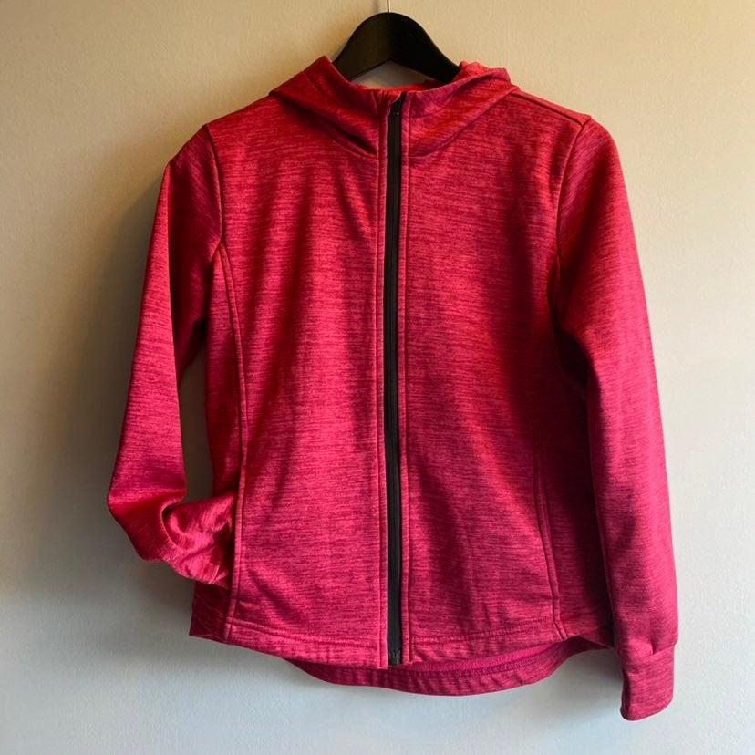 Z by Zella Girls full zip hoodie red jac