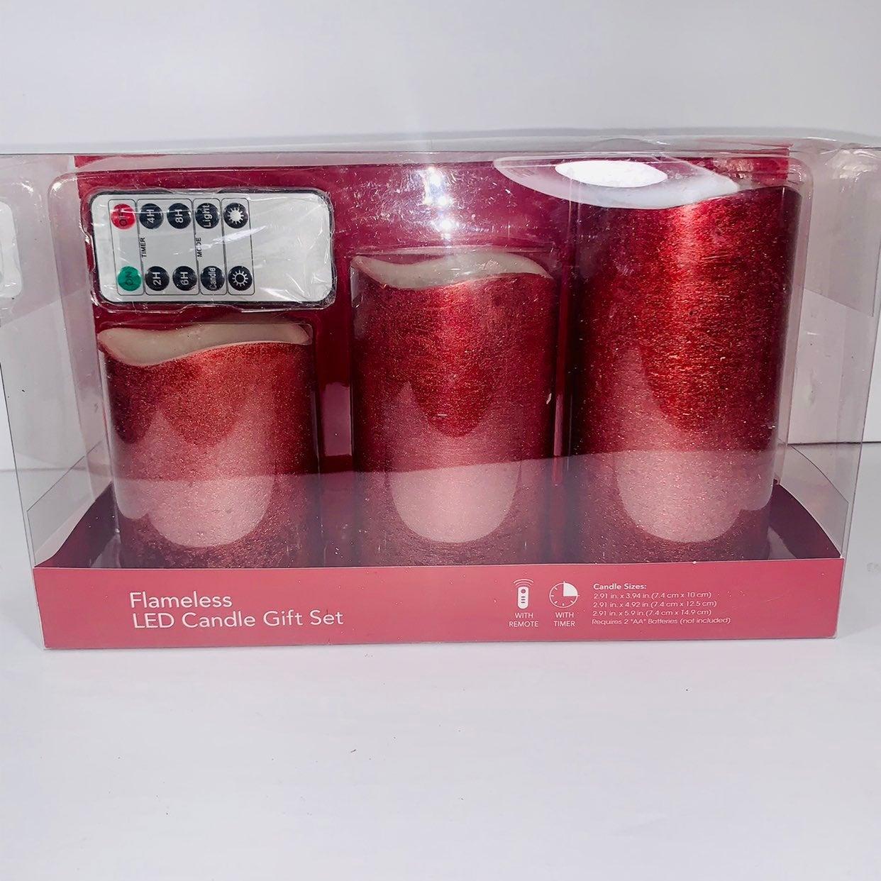 Flameless LED Candle Set