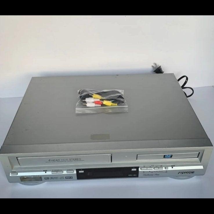 Sansui VRDVD4000 VHS DVD Combo