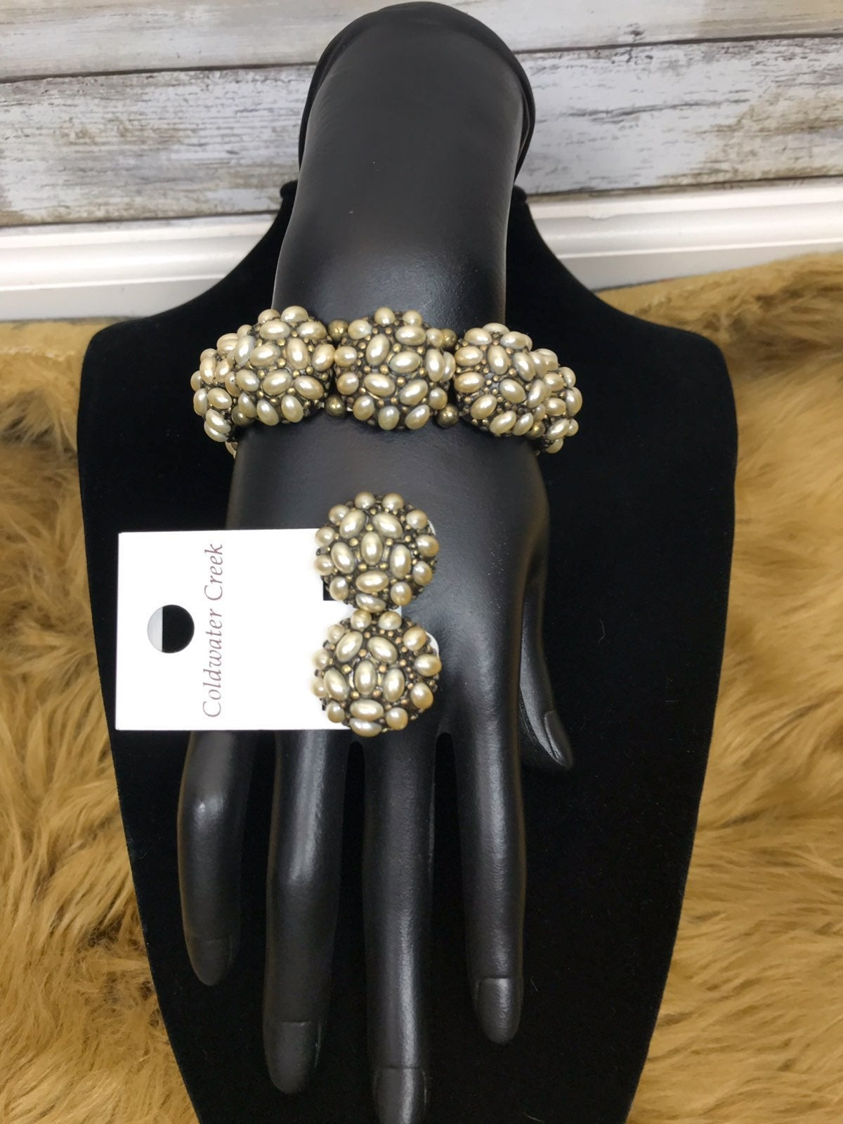 Coldwater Creek Pearl Bracelet Set