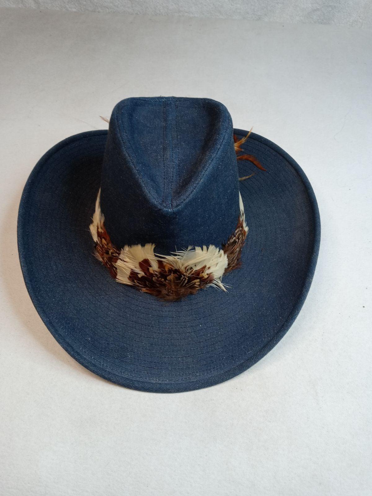 Vintage Denim Resistol Stagecoach Wester
