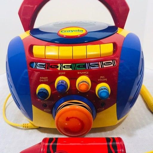 2000 Crayola Karaoke Cassette Player