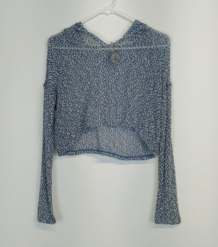 NWT MUDD Knit Crop Knit Pullover/ Hoodie