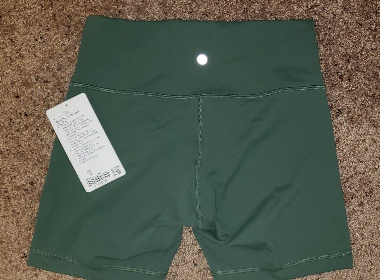 Lululemon wunder train shorts