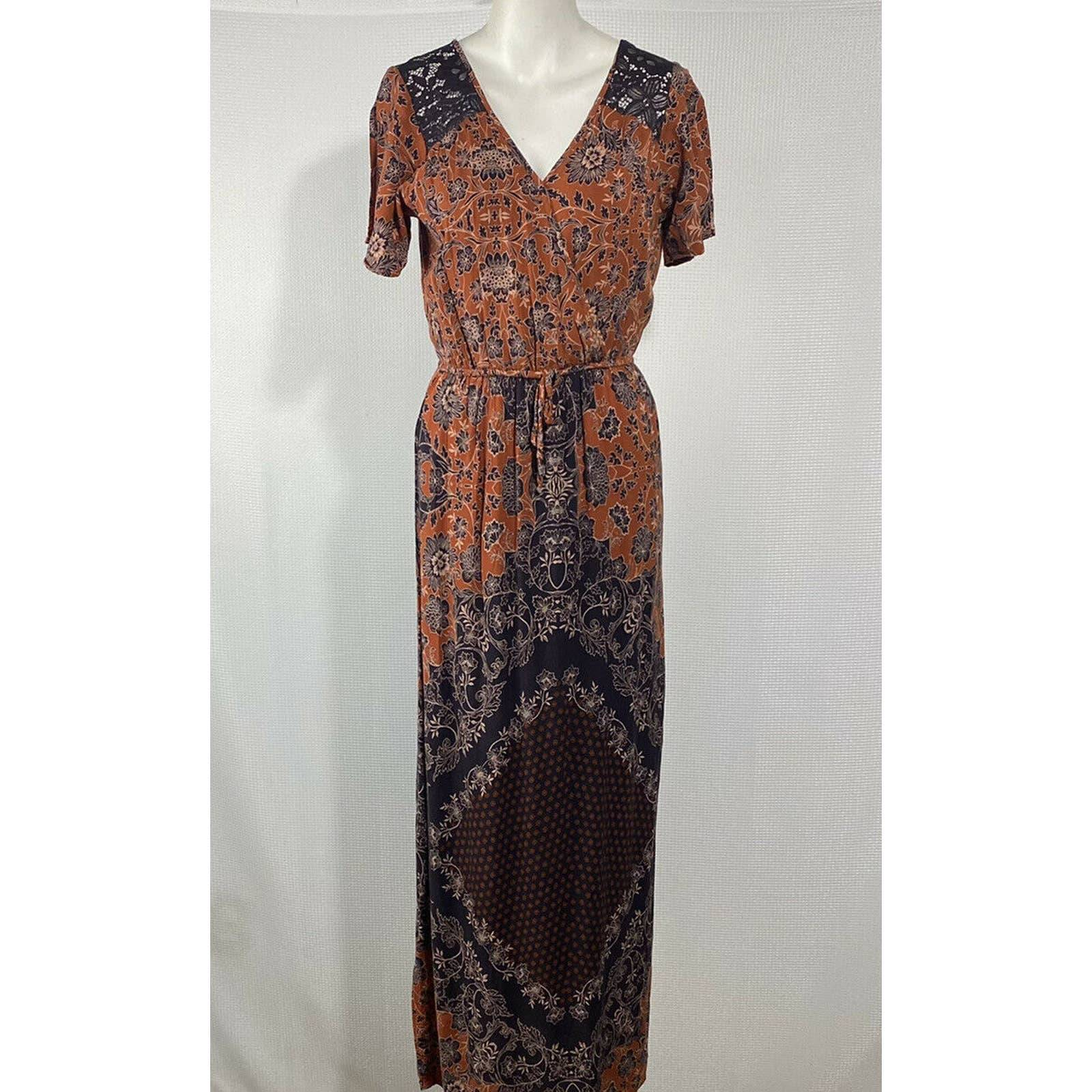 Maurices Maxi Dress Floral Long Modest