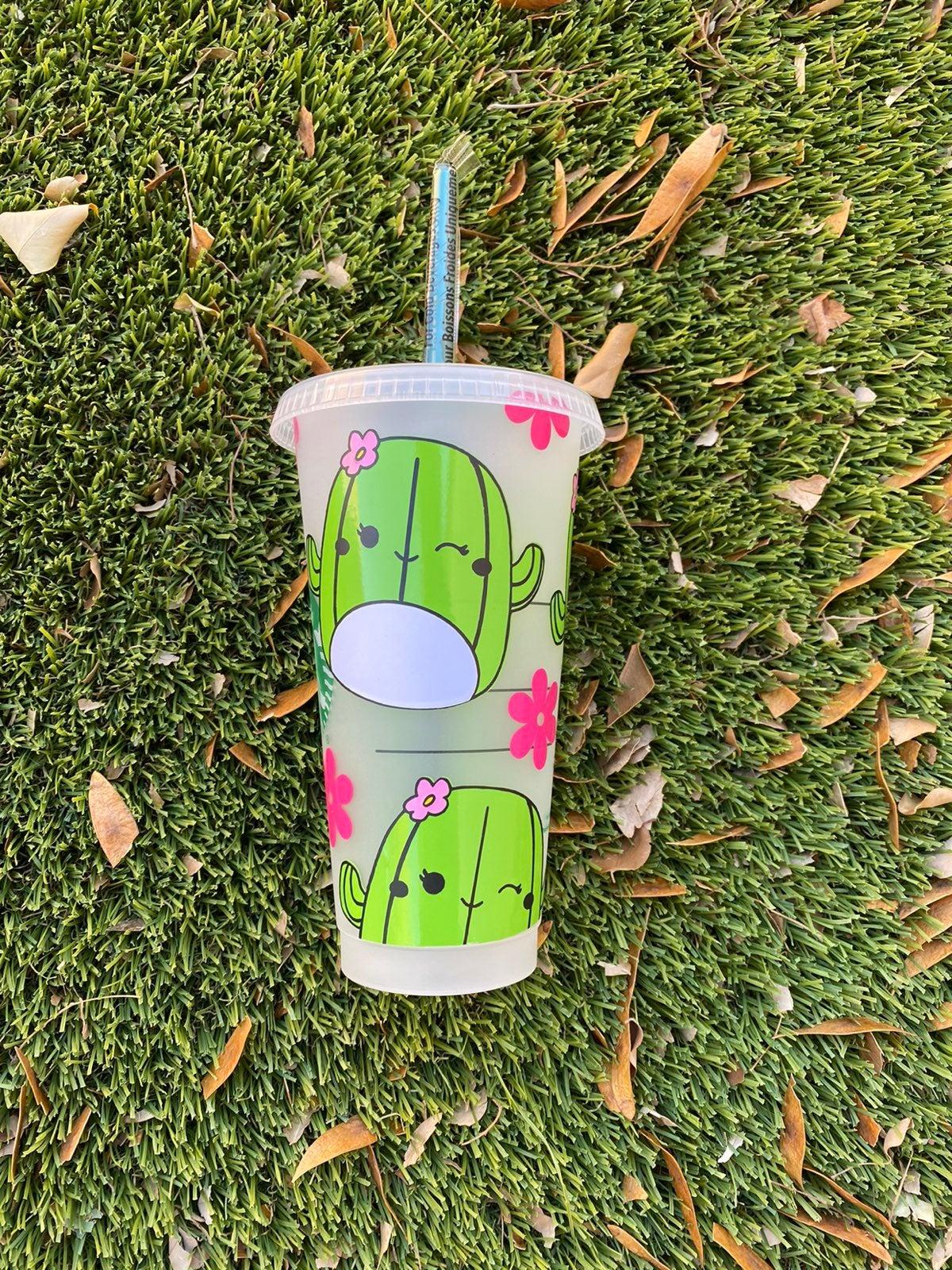Cactus squishmallow starbucks cup