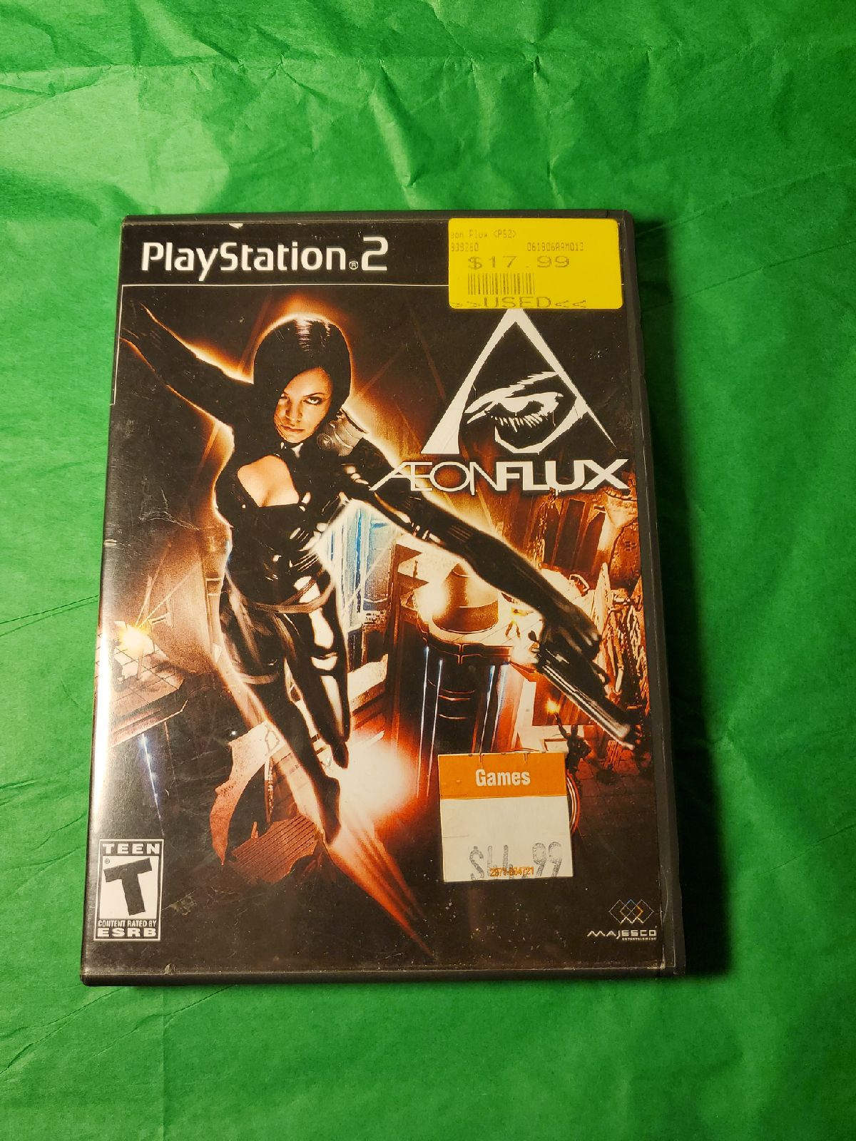 PlayStation 2 AeonFlux