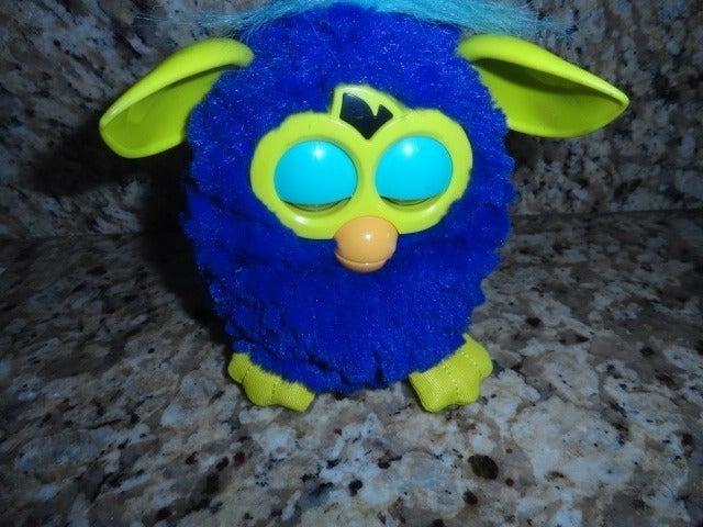Furby Boom Blue Talking Interactive