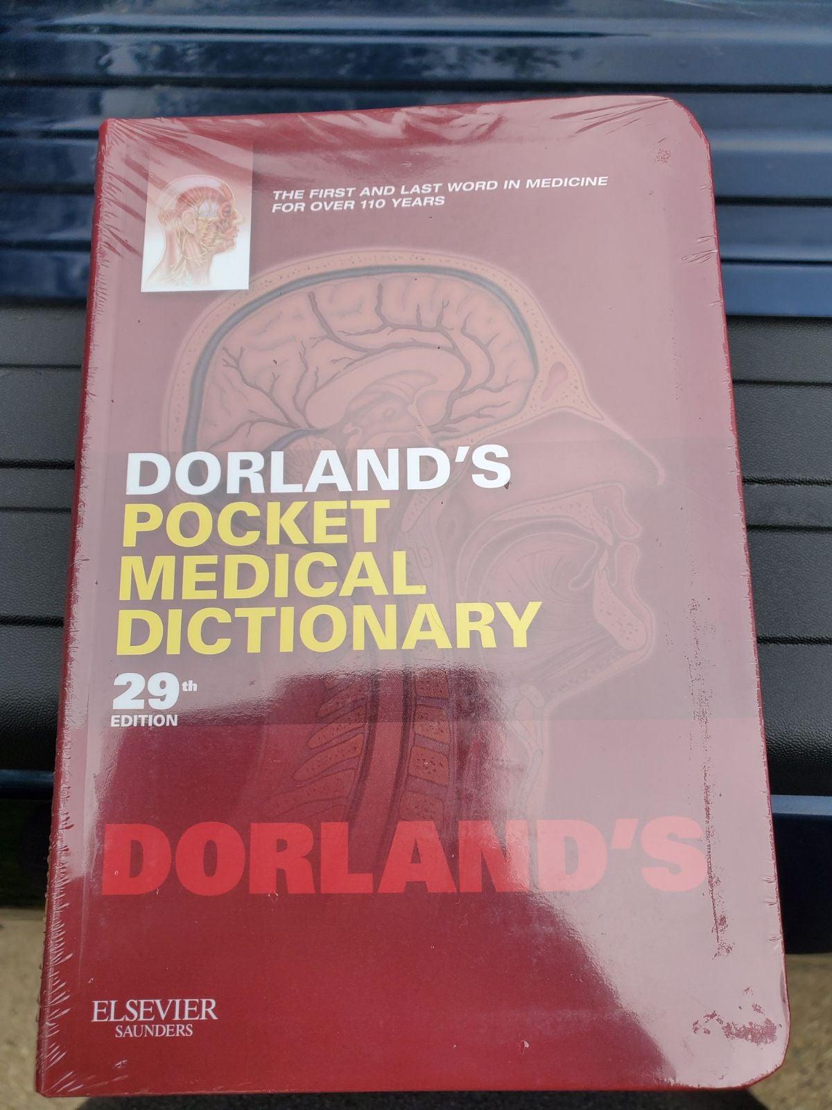 Dorlands Pocket Medical Dictionary 29th