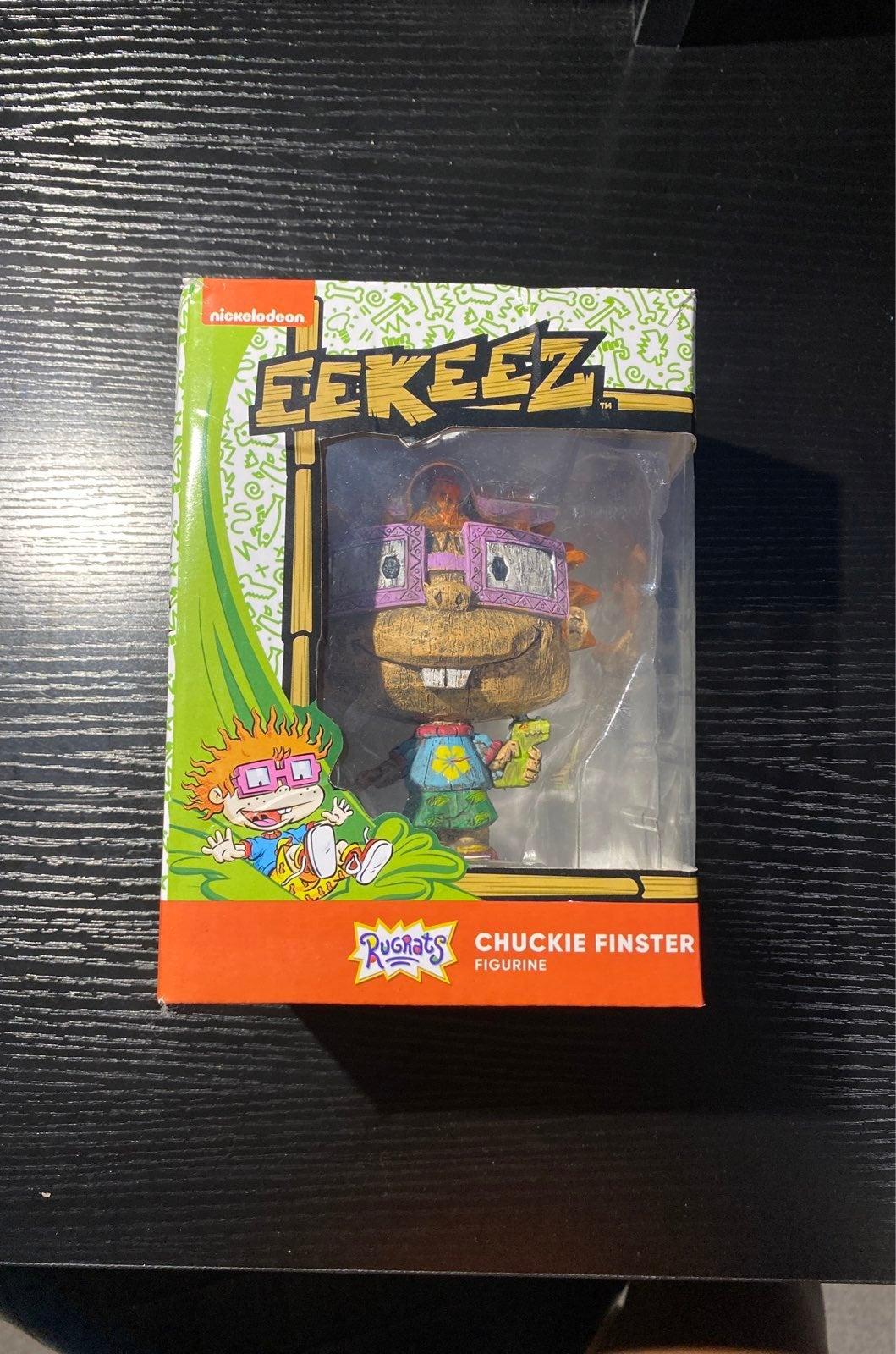 EEKEEZ Rugrats Chuckie Finster figurine