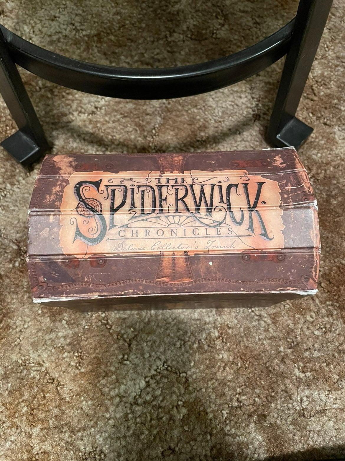 The Spiderwick Chronicles book set