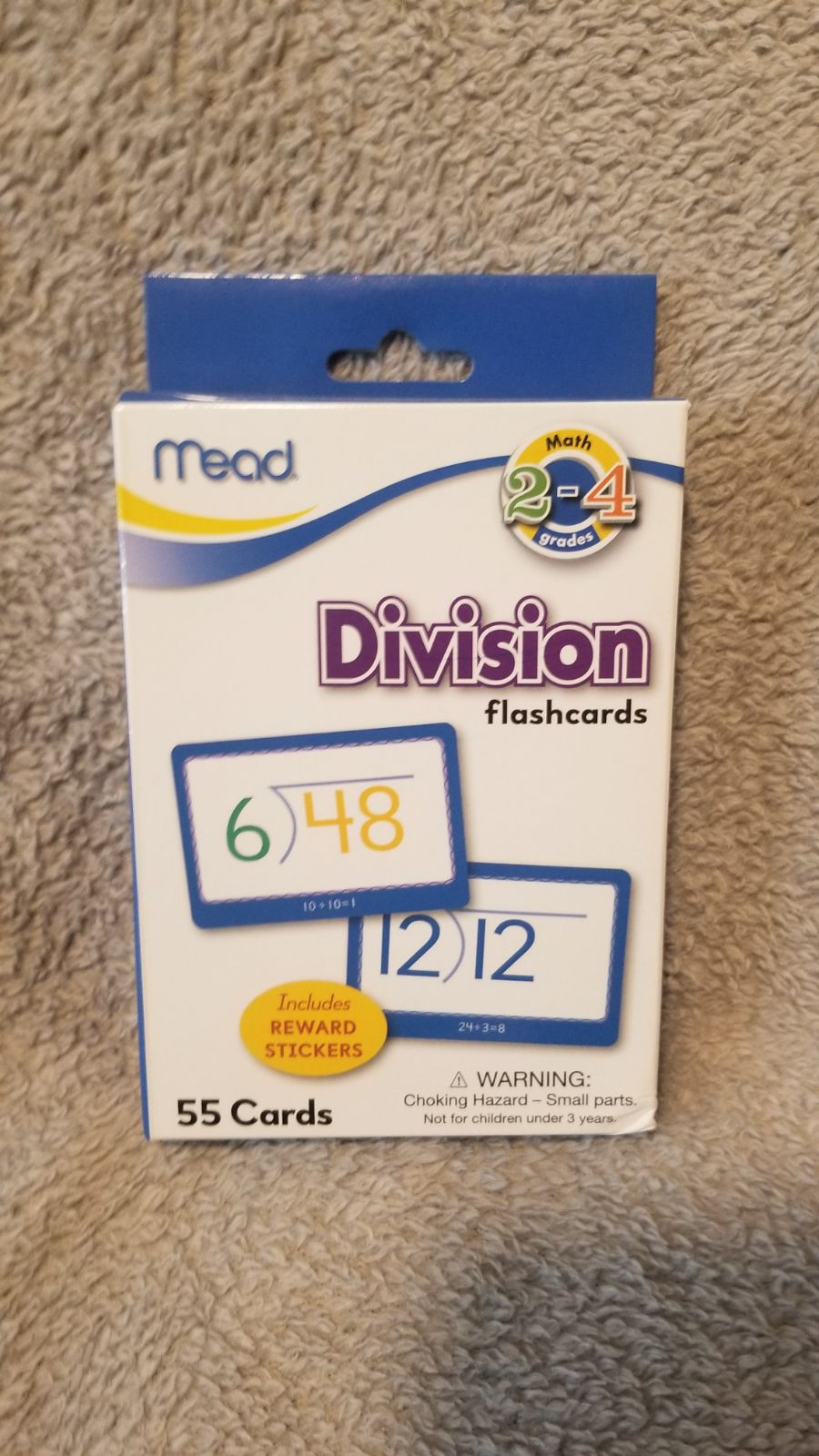 Mead Flashcards, Division, Grades 2-4