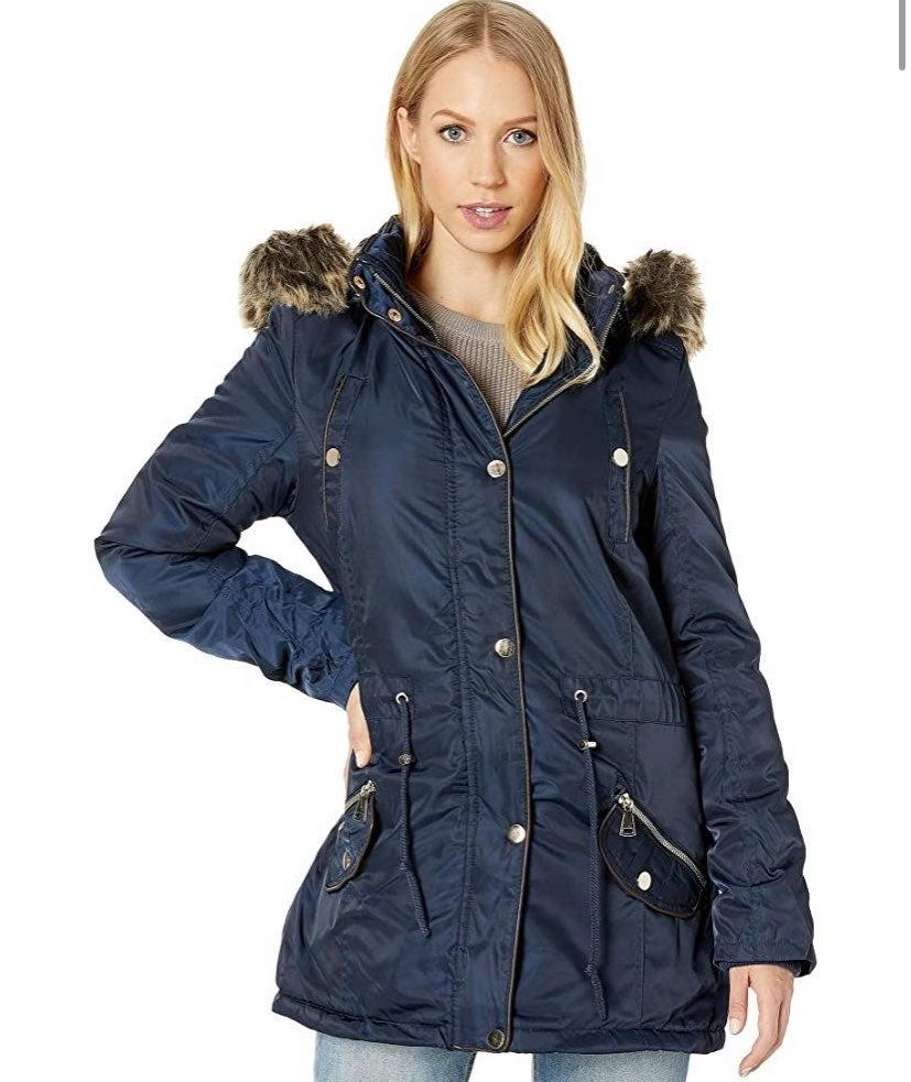 Fur Hooded Winter Jacket