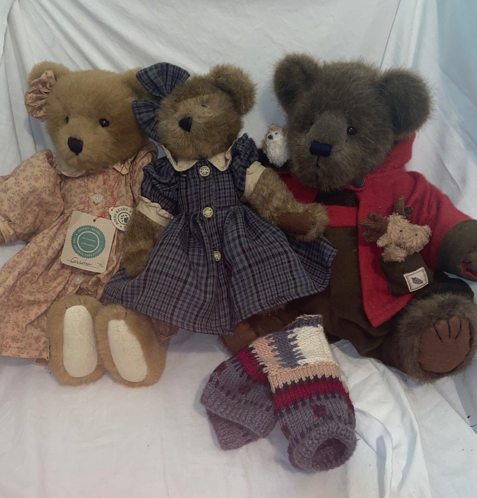 Three Boyds Bears