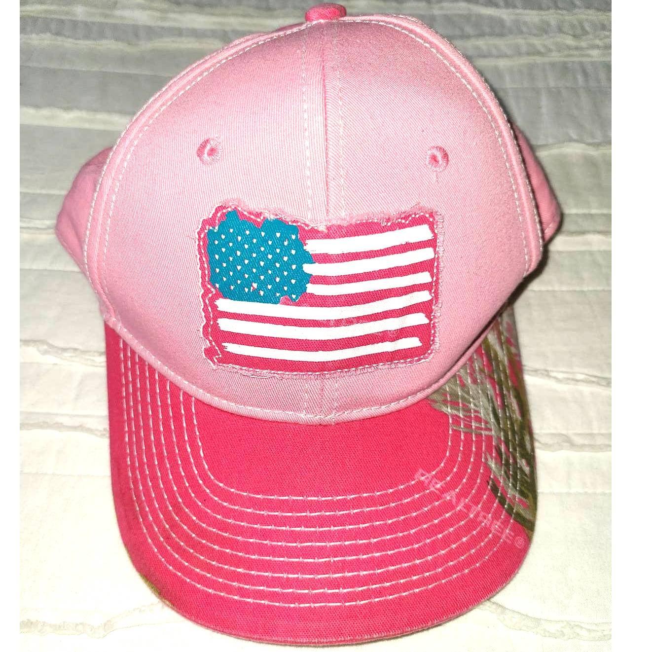 NWOT Buck Wear womens pink Camo cap 972