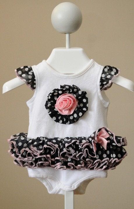 Infant Girl Tutu Bodysuit, Sz. 3mo