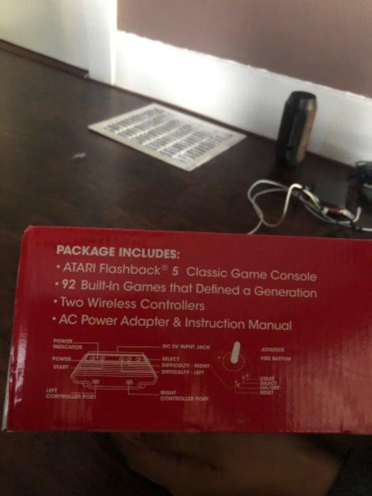 Atari flashback game