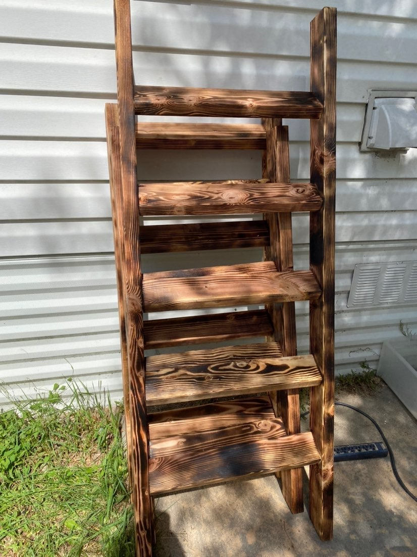 Beautiful Handmade blanket ladder