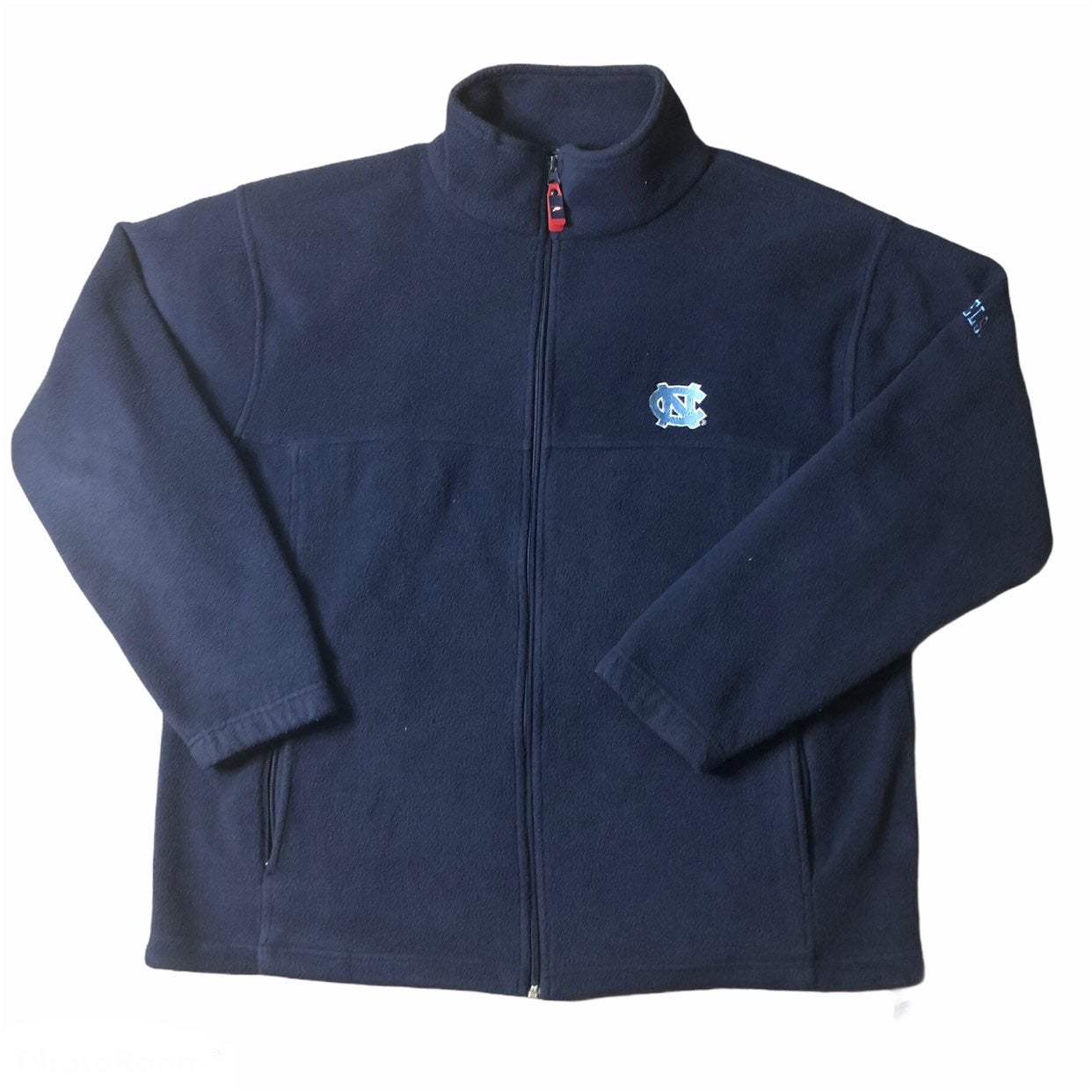 UNC Tar Heels Fleece Jacket Large