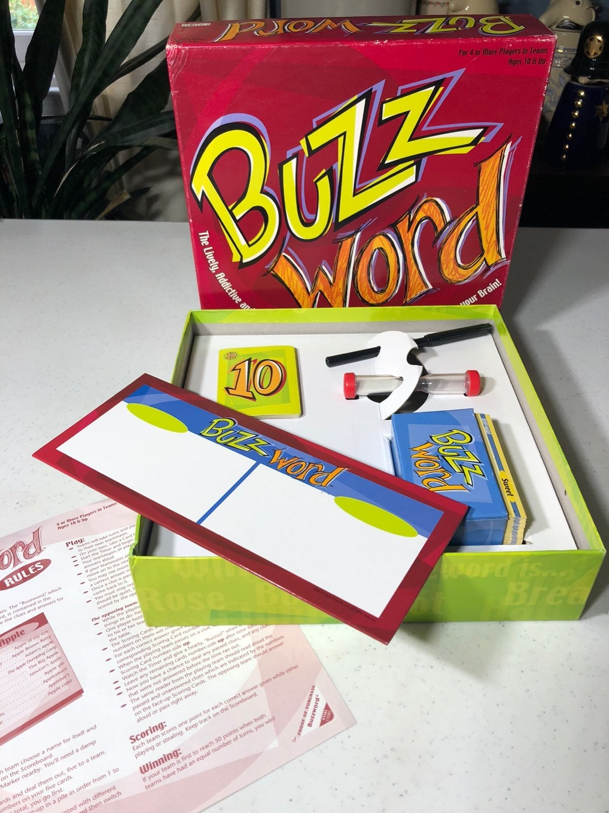 Buzzword Board Game