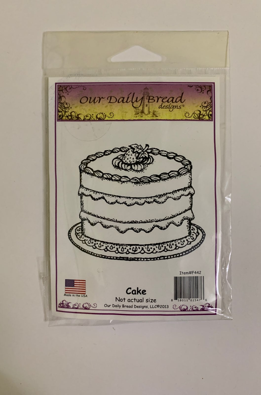Our daily bread designs CAKE stamp odbd
