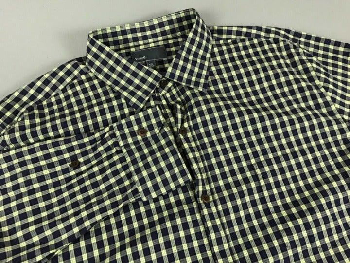 Men's Vinc L/S Button Up Shirt XL