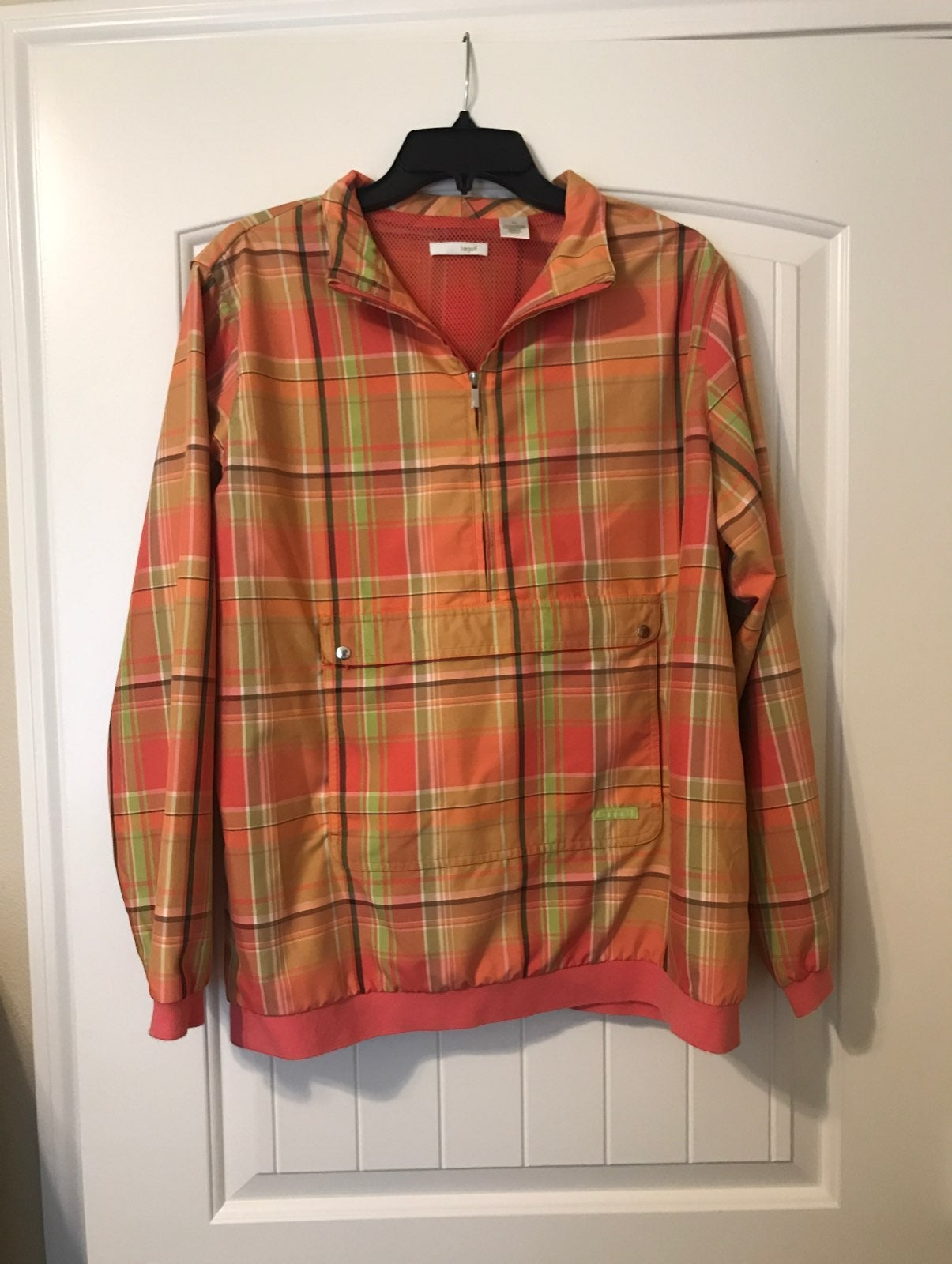 Lizgolf Plaid Jacket