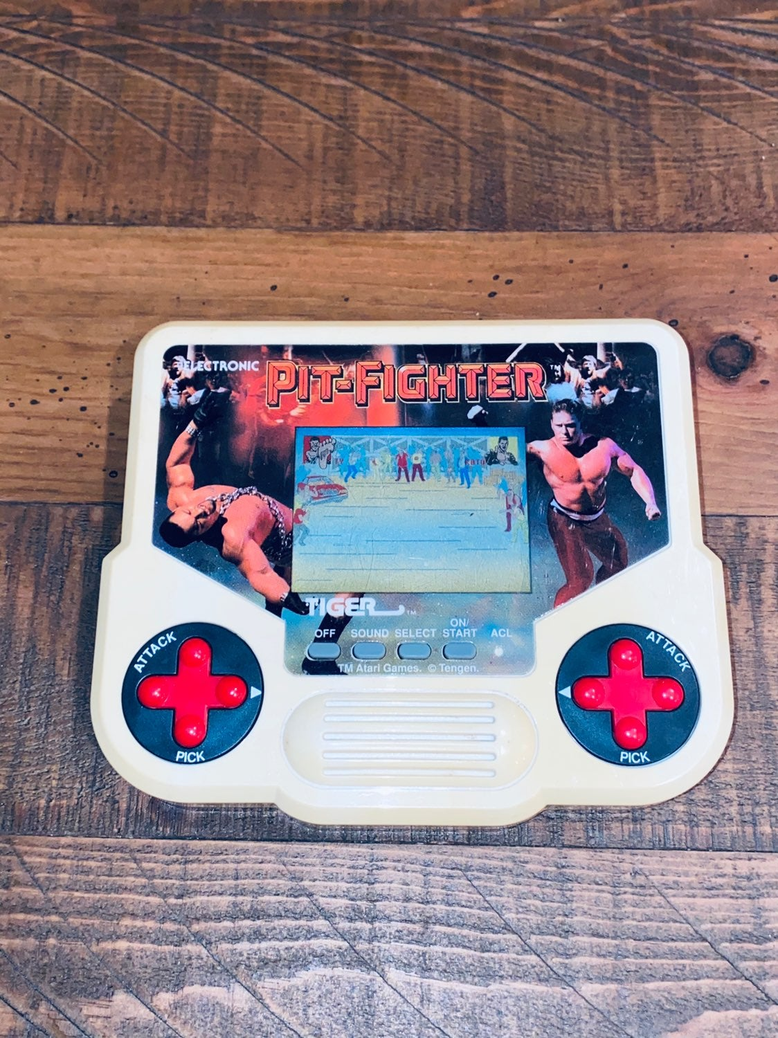 90s Pit Fighter Game Electronic Handheld