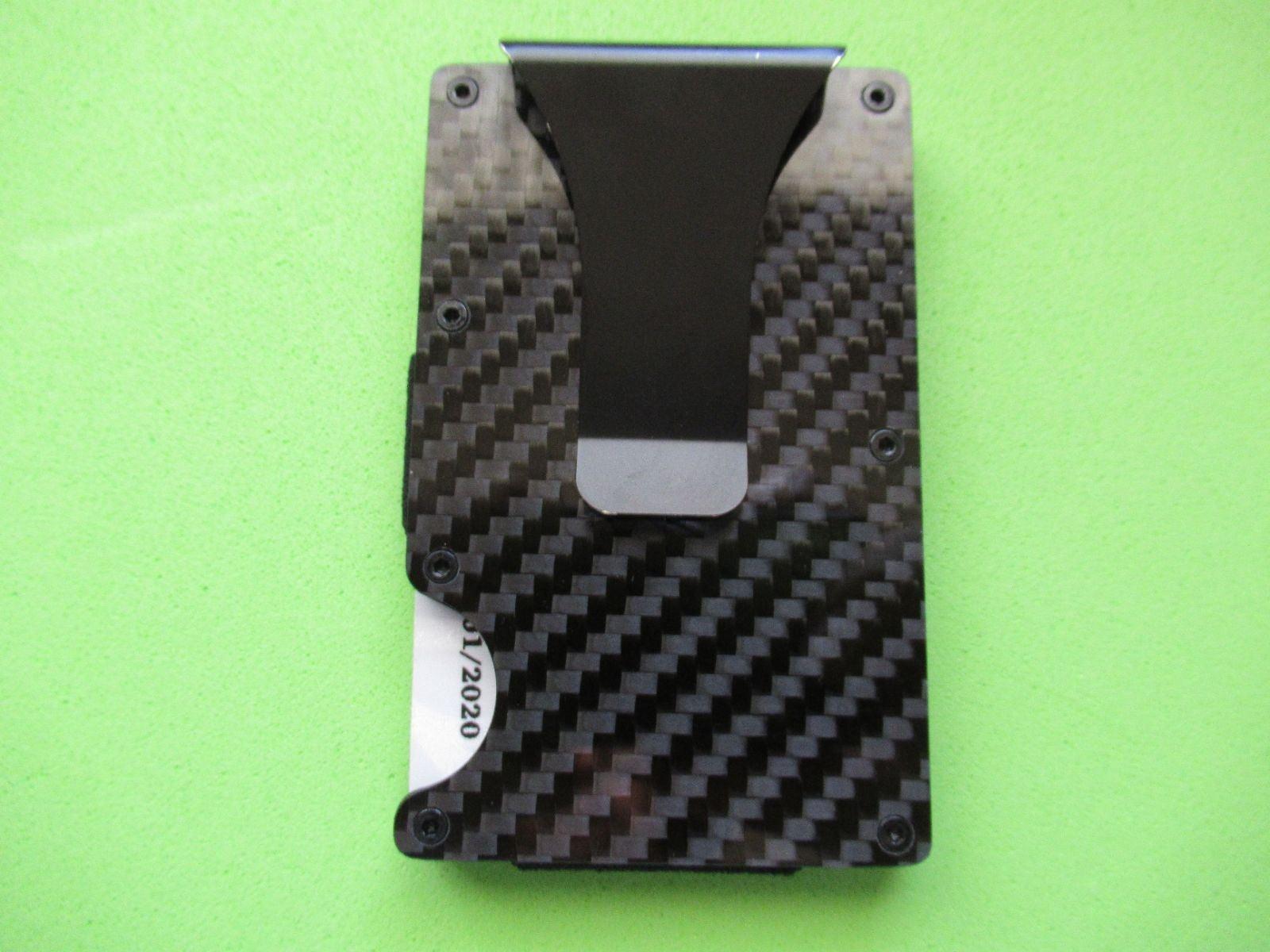 RFID Carbon FIber Premium Wallet