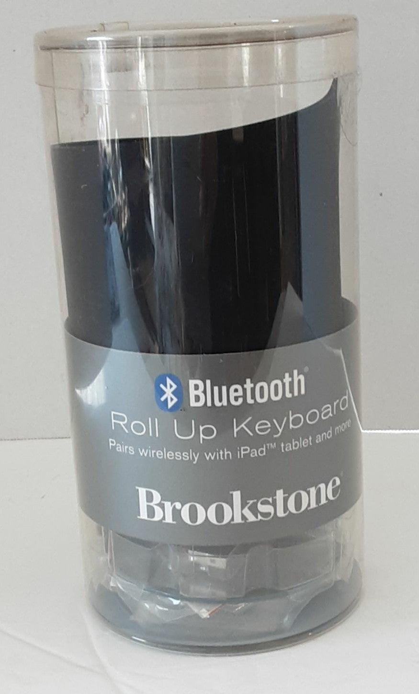 Brookstone Bluetooth Roll-up Keyboard