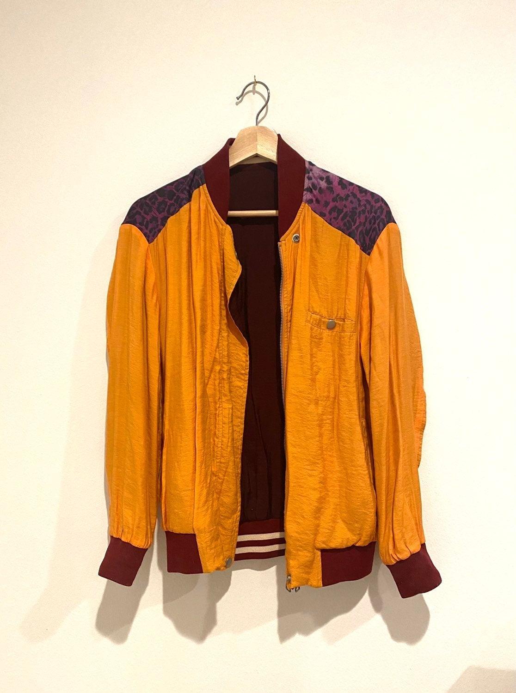 Bomber jacket (reversible)