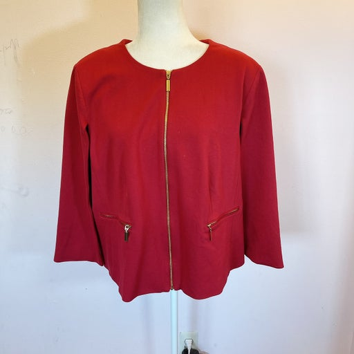 Chico's Woman's Jacket with Cape
