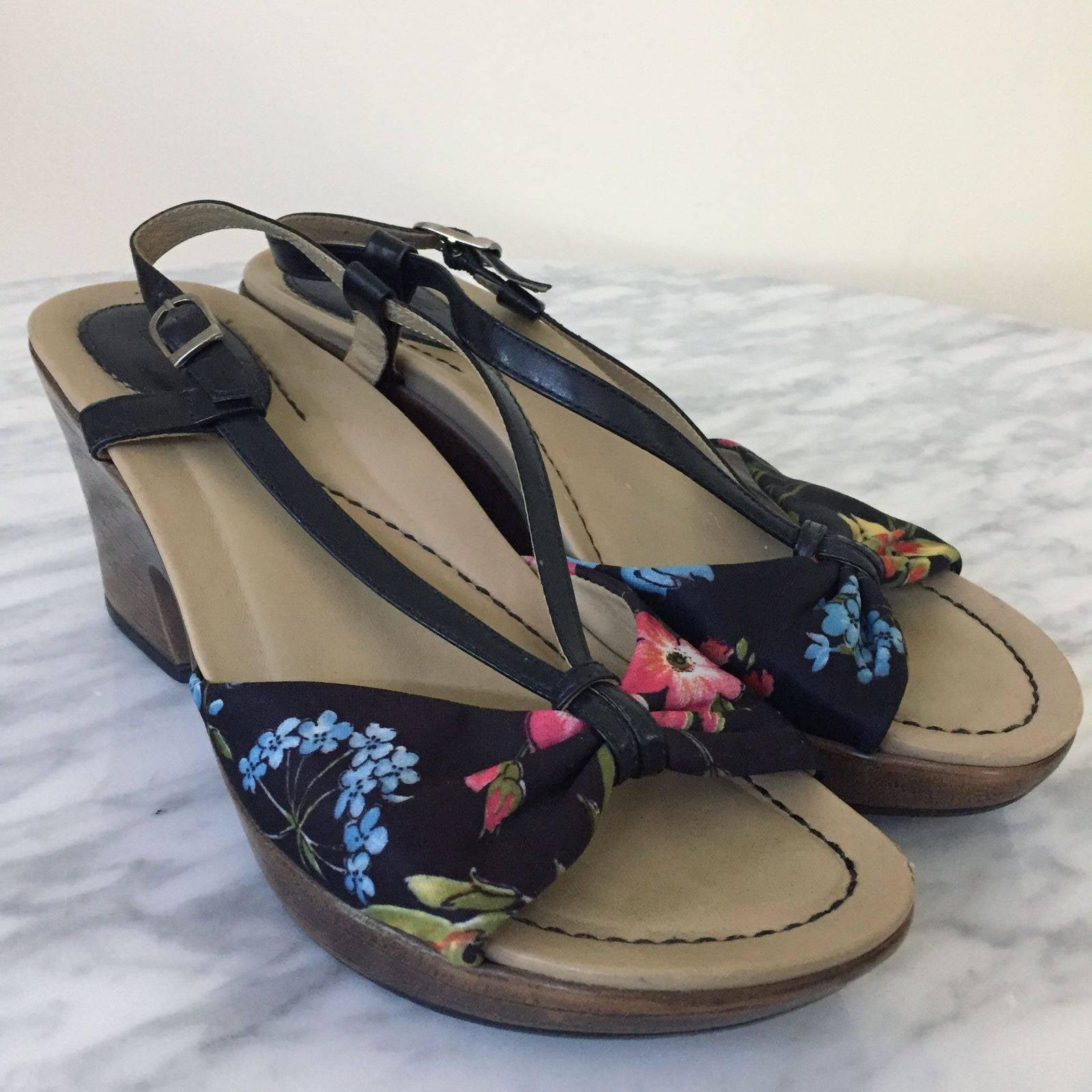 Dansko Floral Naomi Platform Sandal
