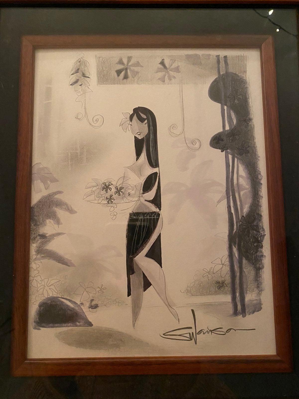 Swanson flower girl Original, one of a k
