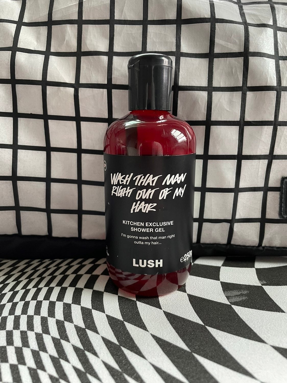 Wash that man right out of my hair Lush