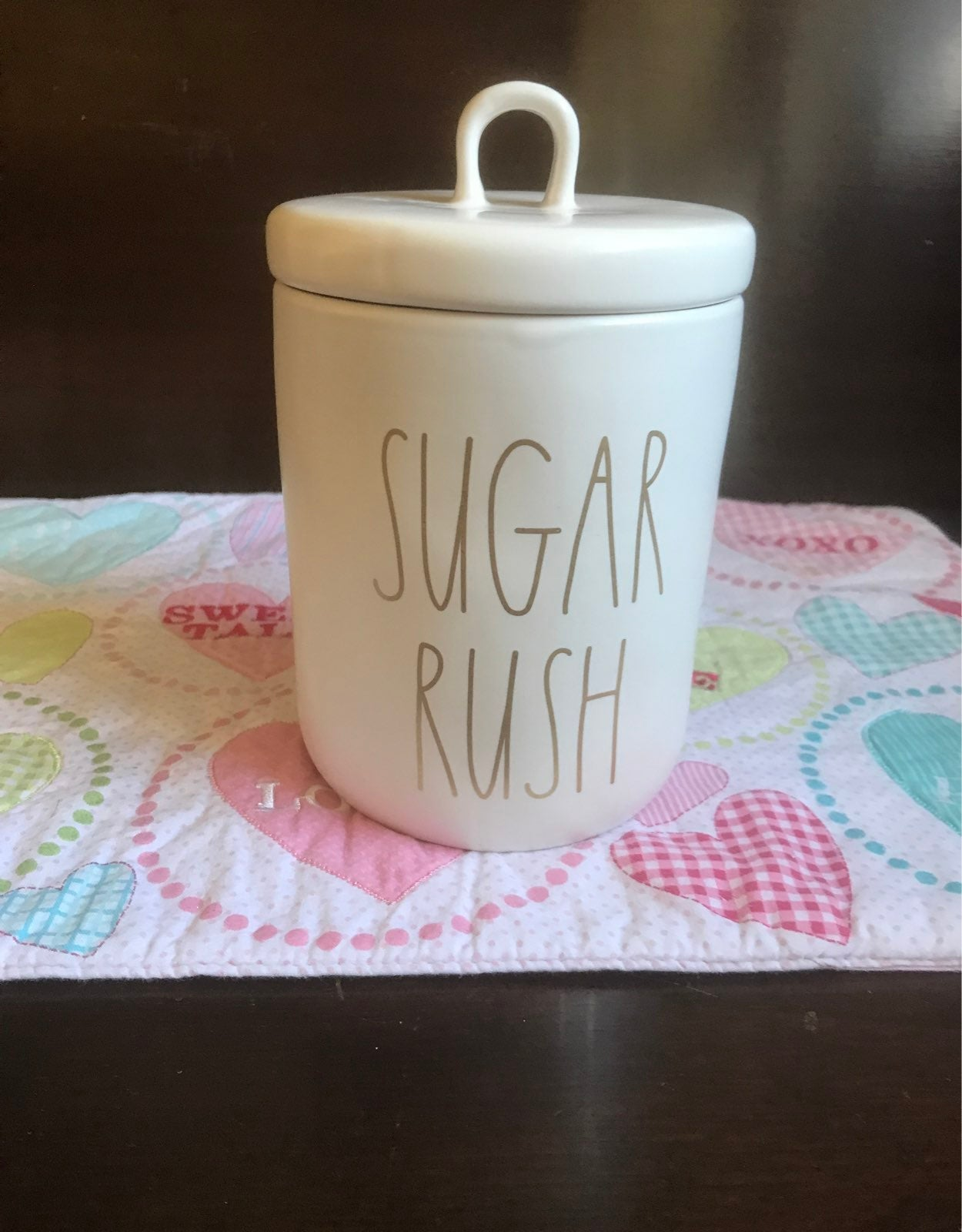 Rae Dunn Sugar Rush Canister