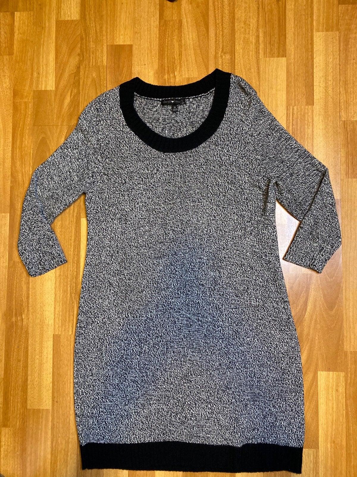 Derek Heart Sweater Dress Size 1X