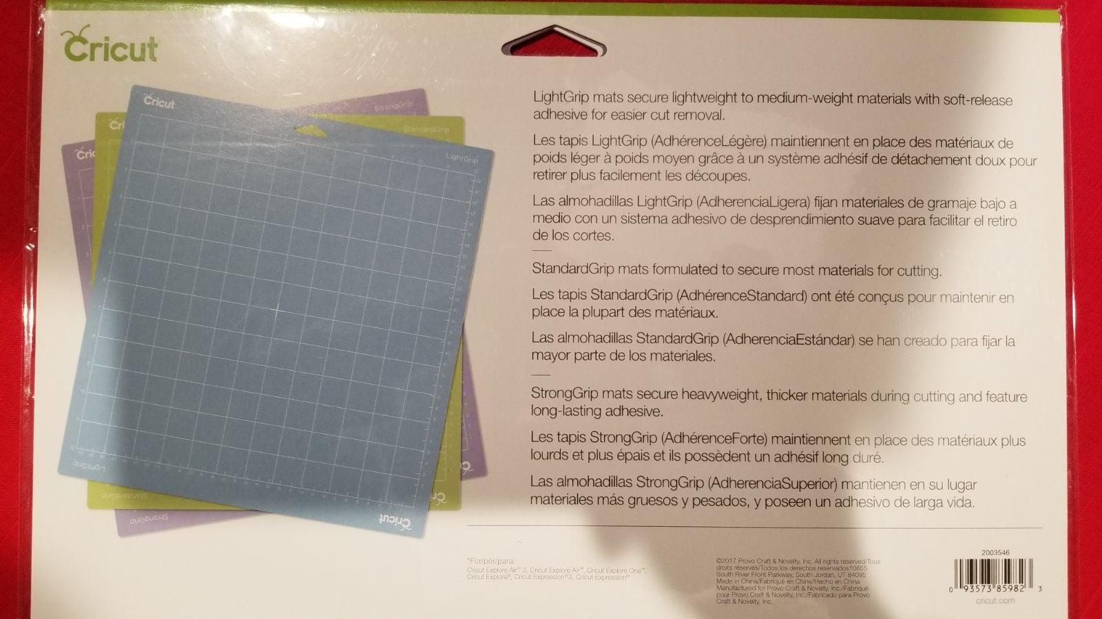 NEW Cricut variety mats Strong Light Sta
