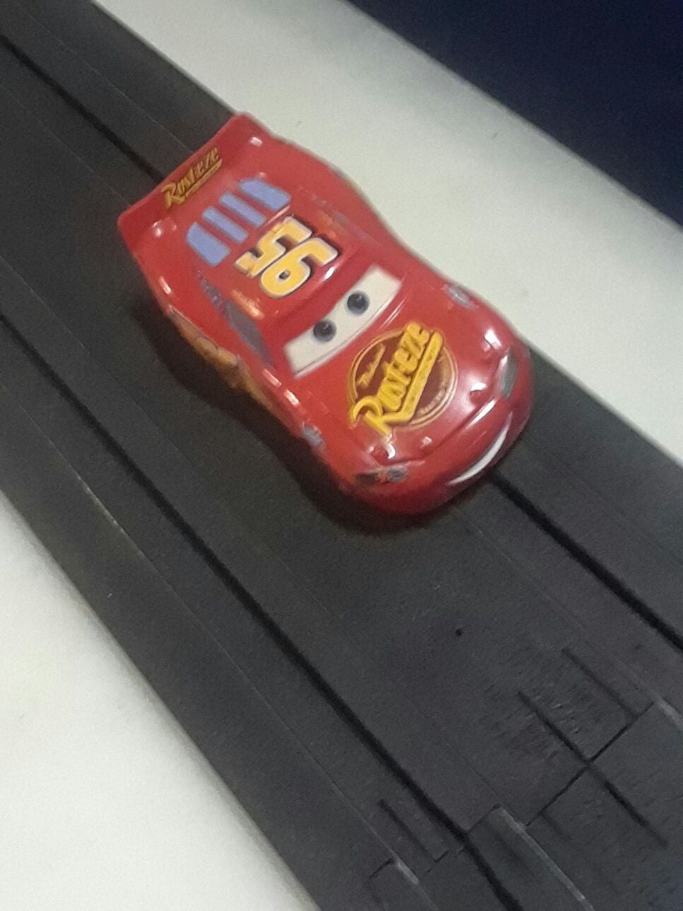 "TYCO HPx2   ""McQUEEN""   HO slot car NEW!"
