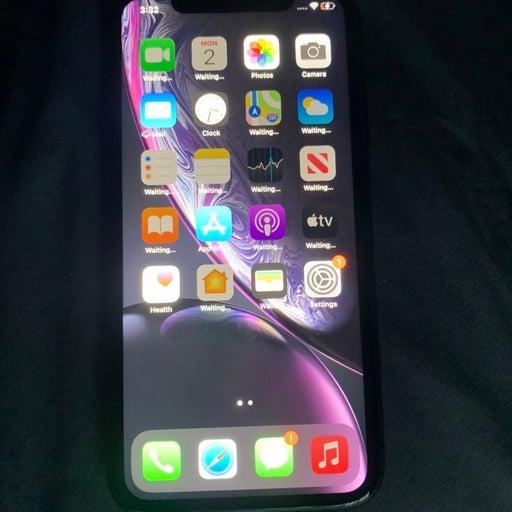 iPhone XR Black 64 gigabytes Unlocked